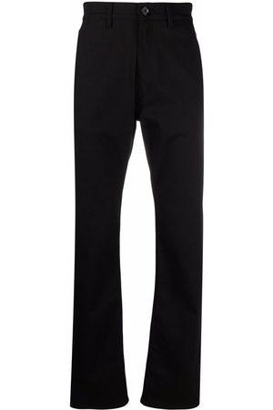Alexander McQueen Man Bootcut - Straight-jeans med broderad logotyp