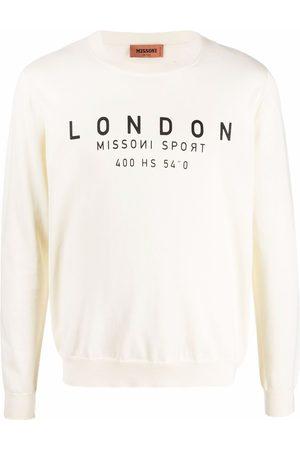 Missoni Man Sweatshirts - Logo-print sweatshirt