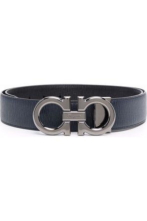 Salvatore Ferragamo Man Bälten - Gancini-buckle leather belt