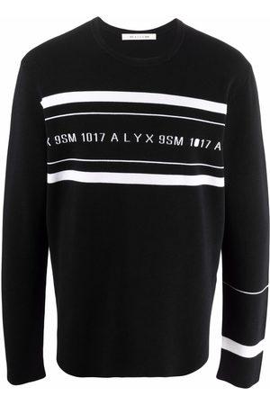 1017 ALYX 9SM Man Sweatshirts - Logo-print crew neck sweatshirt
