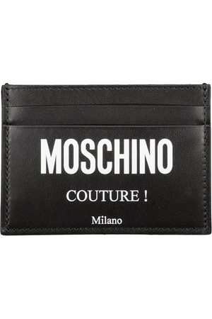 Moschino Man Plånböcker - Card Case Logo