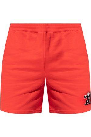 Helmut Lang Printed sweat shorts