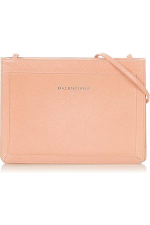 Balenciaga Pochette Leather Crossbody Bag