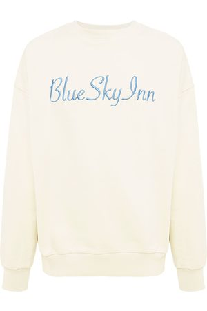 BLUE SKY INN Logo Cotton Crewneck Sweatshirt