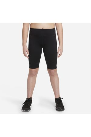 Nike Cykelshorts Dri-FIT One för tjejer (utökade storlekar)