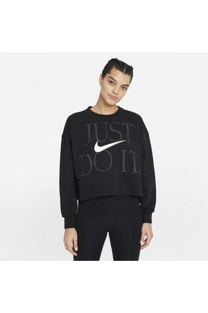 Nike Kvinna Tränings t-shirts - Träningströja med rund hals Dri-FIT Get Fit för kvinnor