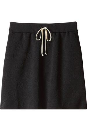 Gucci GG jacquard jersey skirt