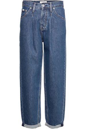 Calvin Klein Baggy Jean Raka Jeans Blå