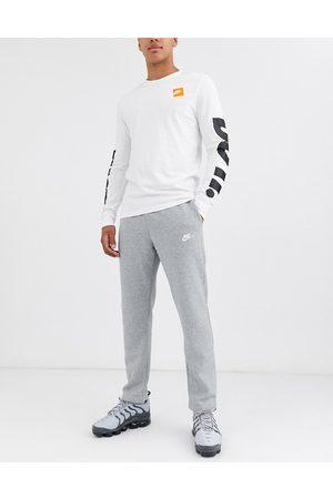 Nike Man Joggingbyxor - – Club – mjukisbyxor i fleece med rak passform