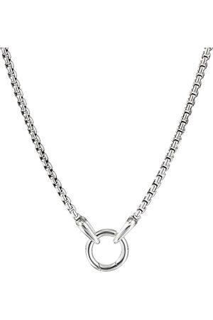 David Yurman Circle charm necklace