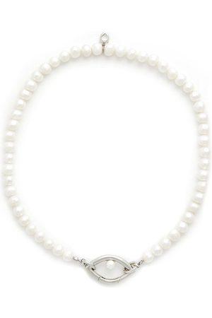 CAPSULE ELEVEN Man Halsband - Pärlhalsband med hänge