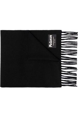 Alexander McQueen Man Sjalar - Fringed wool scarf