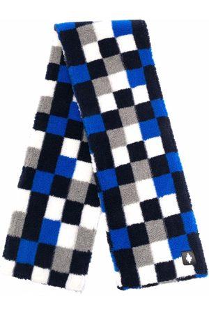 MARCELO BURLON Man Sjalar - Checkerboard-print scarf