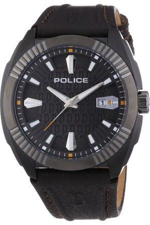 Police Polis herrarmbandsur XL PATHFINDER analog kvarts läder P13596JSBU-61