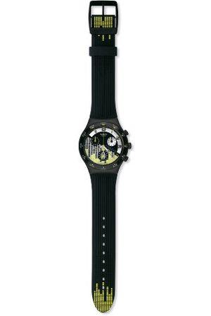 Swatch Herr Electro Vibes silikonrem kronograf klocka