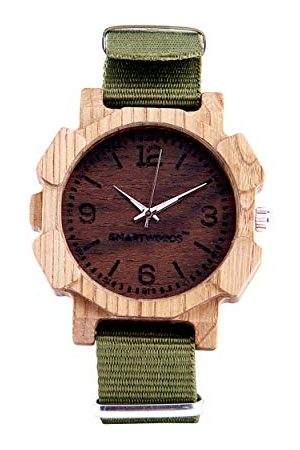 SmartWoods Unisex vuxna analog automatisk klocka med nylonarmband 5902706213812