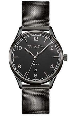 Thomas Sabo Unisex-klocka rostfritt stål CODE TS WA0342-203-40 mm