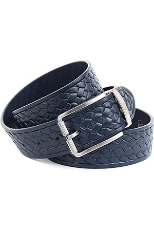 Anthoni Crown Bälten - Unisex BLU2P4980-105 bälte, mörkblå, 105