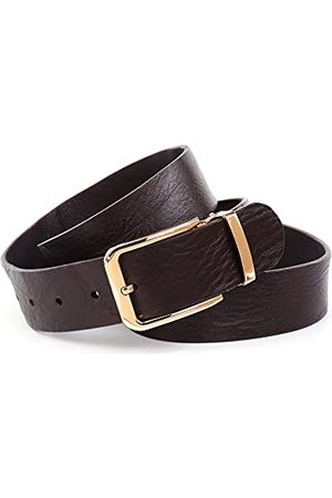Anthoni Crown Bälten - Unisex BR4P4340-115 bälte, mörkbrun, 115