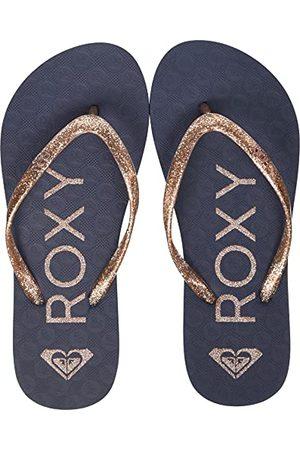 Roxy Flip-Rg Viva Sparkle Sandal för flickor Flip-Flop, Äkta marinblå guld32 EU
