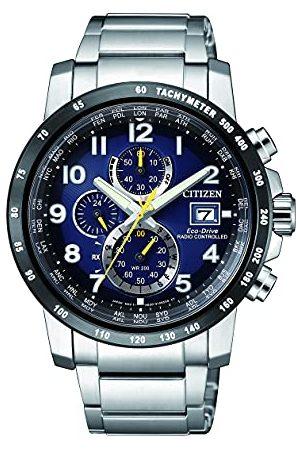 Citizen Herr Chronograph Eco-Drive klocka med rostfritt stål armband AT8124–91L
