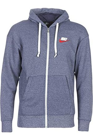 Nike M NSW Heritage Hoodie FZ tröjor och fleecejackor Hommes Marine – L – tröjor