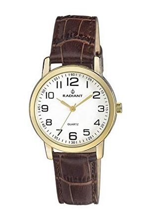 Radiant Herr analog kvartsklocka med läderarmband RA281608