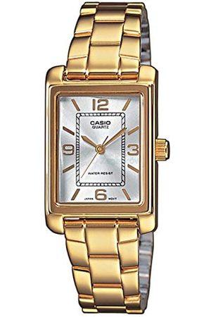 Casio Damer analog kvarts med rostfritt stål armbandsur LTP 1234PG 7A
