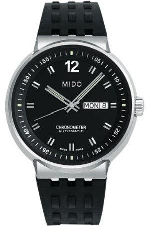MIDO Mäns automatiska klocka M83404C891 med gummiband