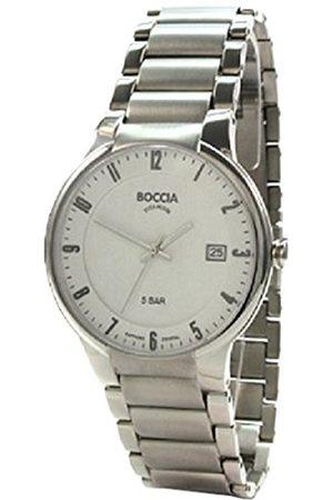 Boccia Armbandsur för män XL analog kvarts titan 3629-02