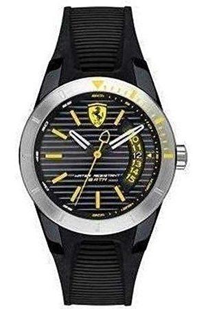 Scuderia Ferrari Orologi herr analog kvartsklocka med silikonarmband 0840015