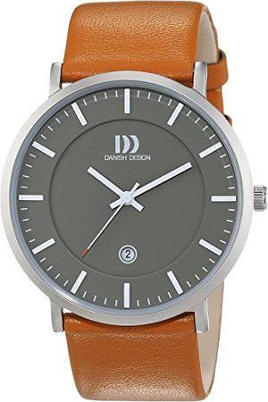 Danish Design Dansk design herrarmbandsur analog kvarts läder 3314515
