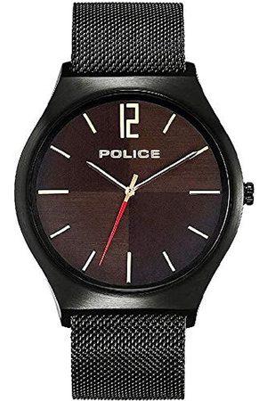 Police Kvartsklocka med rostfritt stål armband 4895220904261
