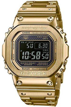 Casio Mäns digital kvarts klocka med rostfritt stål armband GMW-B5000GD-9ER