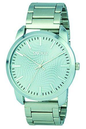 Snooz Herr analog kvartsklocka med rostfritt stålrem Saa0043-65