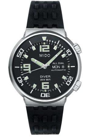 MIDO Mäns automatiska klocka M837045891 med gummiband