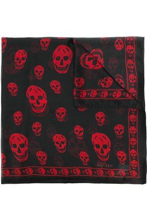 Alexander McQueen Man Sjalar - Sjal med dödskallemotiv