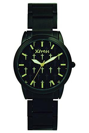 XTRESS Herr analog kvartsklocka med rostfritt stål armband XNA1037-01