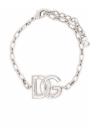 Dolce & Gabbana Man Armband - Länkarmband med logotypplakett