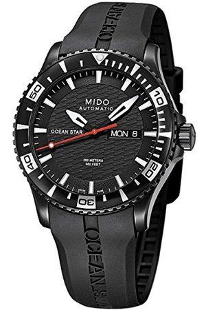 MIDO Armbandsur för män XL Ocean Star analog automatiskt gummi M0114303705122