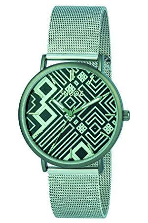 Snooz Herr analog kvartsklocka med rostfritt stål armband Saa1042-83