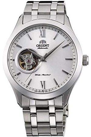 Orient Unisex vuxna analog automatisk klocka med rostfritt stål armband FAG03001W0