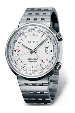 MIDO Man Klockor - Herrklocka automatisk all urtavla Gmt M83504111