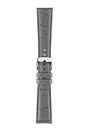 Morellato Unisex klocka armband, SPORT-kollektion, mod. SOCCER, tillverkad av kalvläder med alligatorstruktur – A01X4497B44