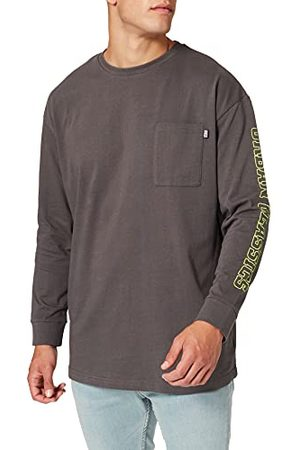 Urban classics Longsleeve Neon logo boxy Pocket Ls T-shirt