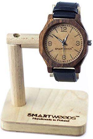 SmartWoods Unisex vuxna analog automatisk klocka med tyg armband 5902706215304
