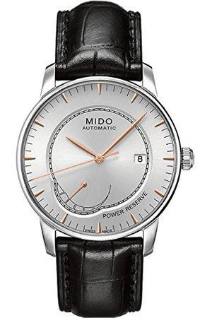 MIDO Man Klockor - Herrarmbandsur BARONCELLI analog automatisk läder M86054104