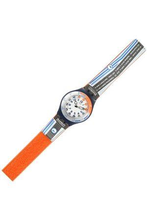 Swatch Herrarmbandsur Jeux De LiGNe Suln101 med plastrem