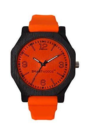 SmartWoods Unisex vuxna analog automatisk klocka med silikonarmband 5903003180104