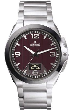 Junghans Herrarmbandsur XL spektrum analog kvarts rostfritt stål 018/1121.44